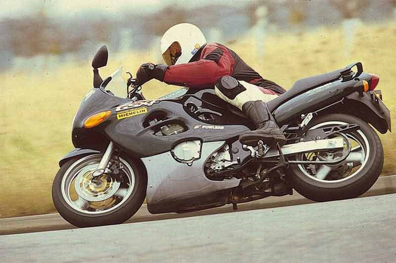 Magnificent Suzuki Gsx750F 1998 2005 Review Speed Specs Prices Mcn Andrewgaddart Wooden Chair Designs For Living Room Andrewgaddartcom