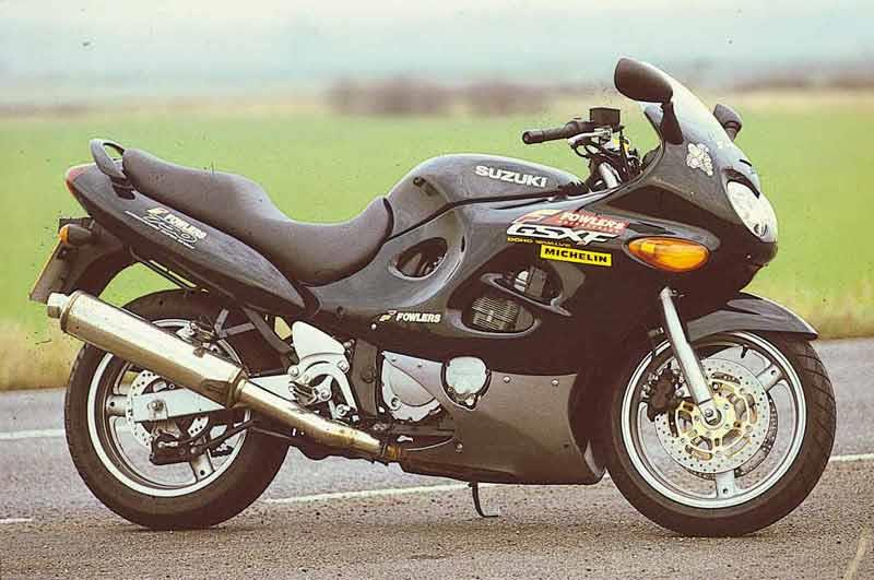 suzuki gsx750f (1998-2005) review   mcn