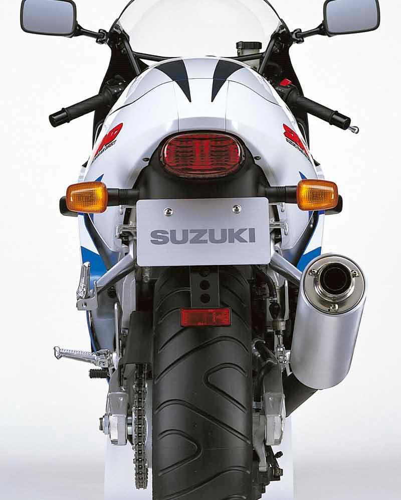 Suzuki Gsx R600 1996 2000 Review Custom Motorcycle Wiring Diagrams Besides Kawasaki Zx6r Diagram Rear View