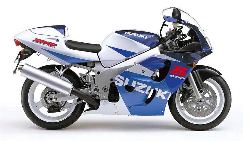 suzuki gsx-r600 motorcycle review - front view