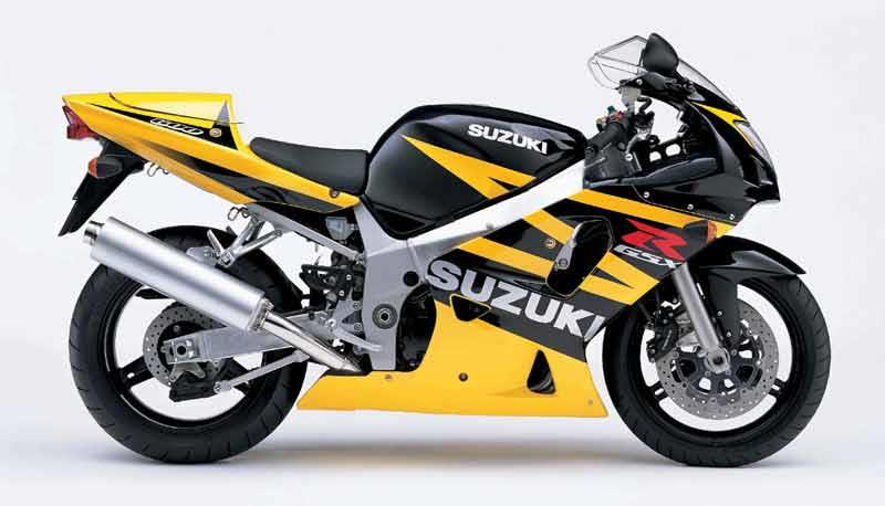 suzuki gsx r600 2001 2003 review mcn. Black Bedroom Furniture Sets. Home Design Ideas
