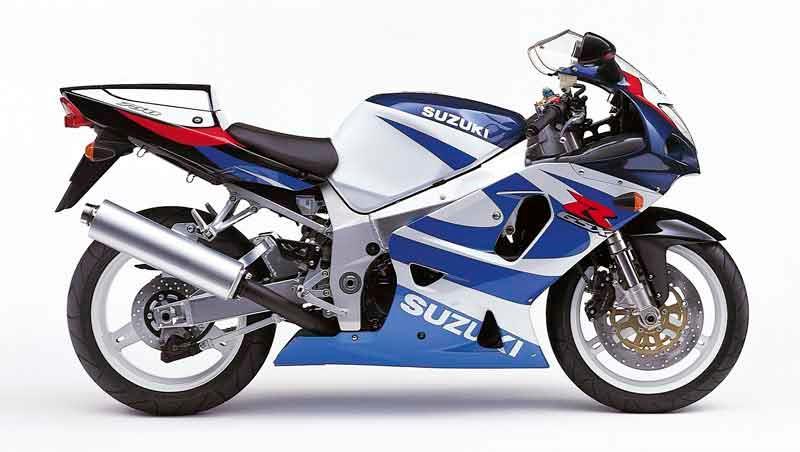 SUZUKI GSX 750 Y REVIEW   Suzuki GSXR 750