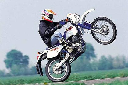 Suzuki DR350 motorcycle review - Riding