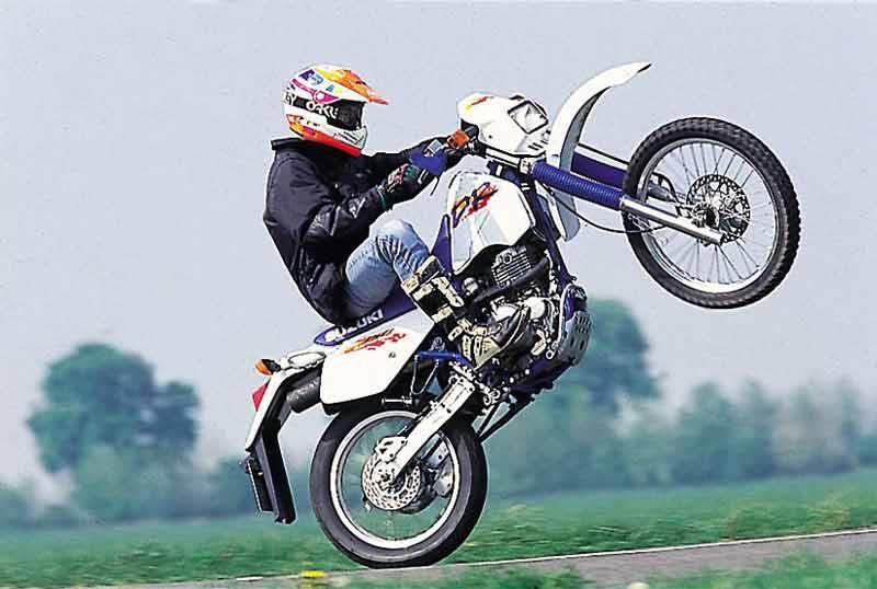 suzuki dr350 (1992-1999) review | mcn