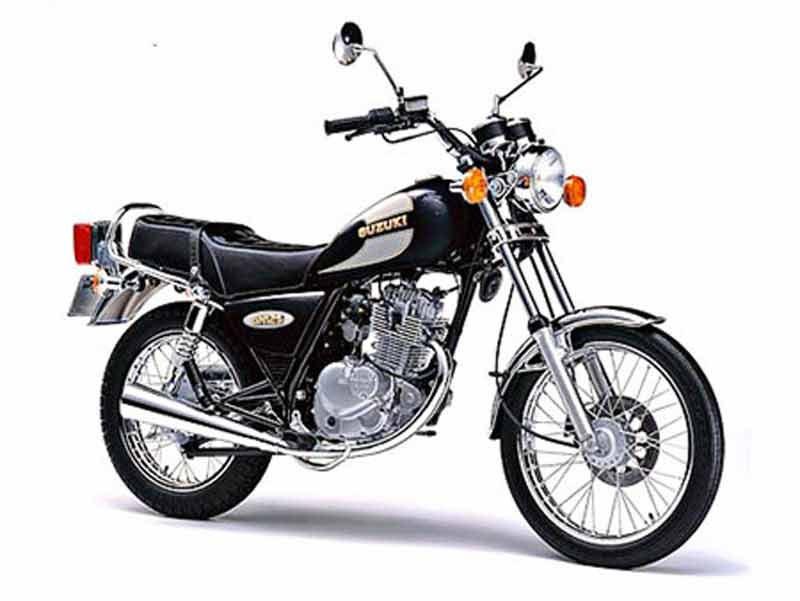 Suzuki  Gn Seat Height