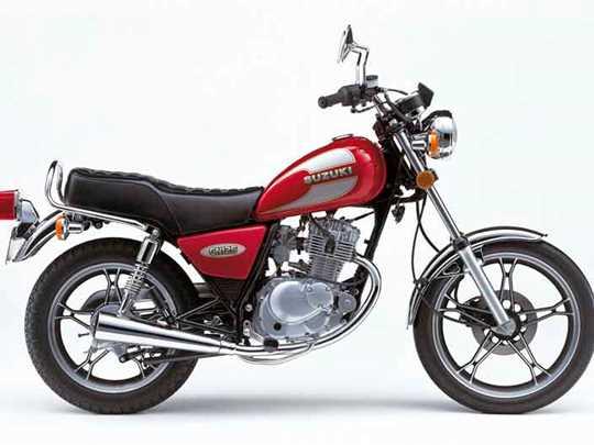 SUZUKI GN125  (1994-2001)