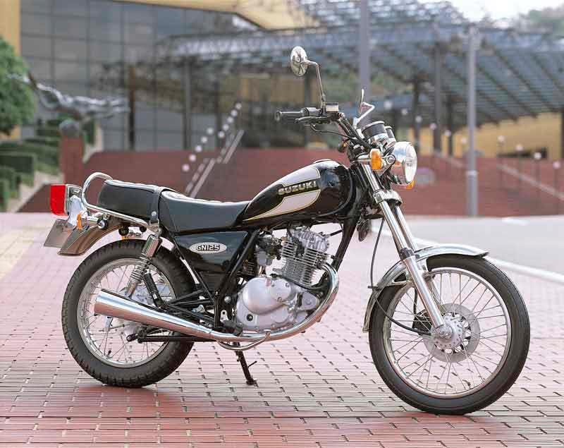 Suzuki GN 125 Air filtre puissance 1994-2001
