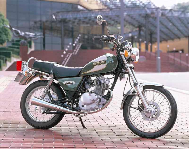 Suzuki Gn125 1994 2001 Review Mcn