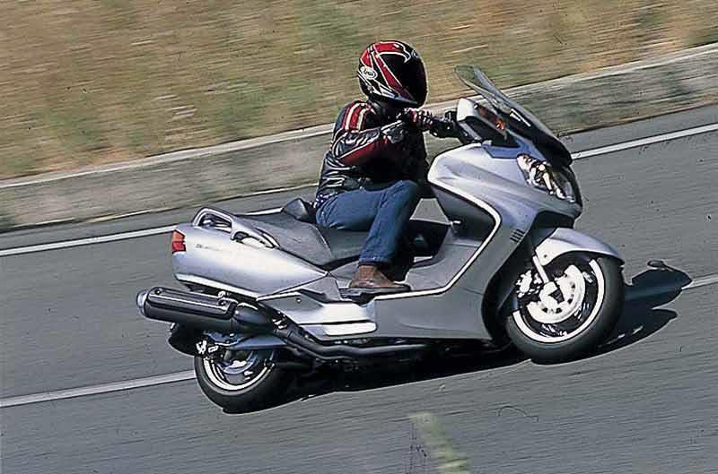 2018 Suzuki Burgman 650 Mpg