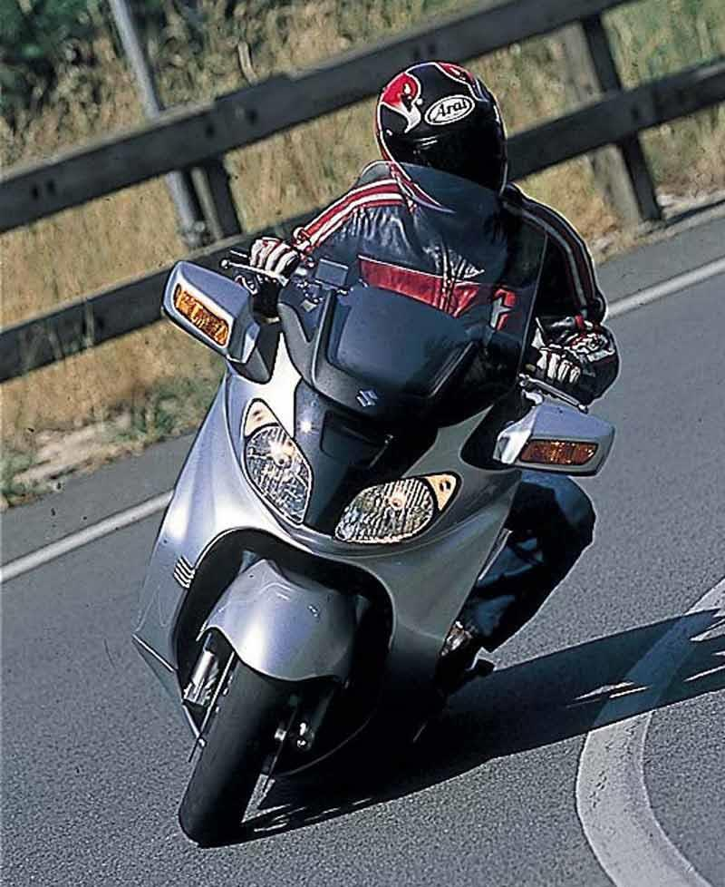 suzuki burgman 650 2003 on review mcn. Black Bedroom Furniture Sets. Home Design Ideas