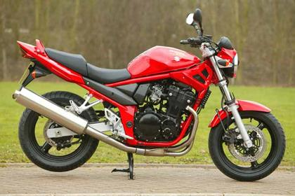 Suzuki GSF650 Bandit motorcycle review - Side view