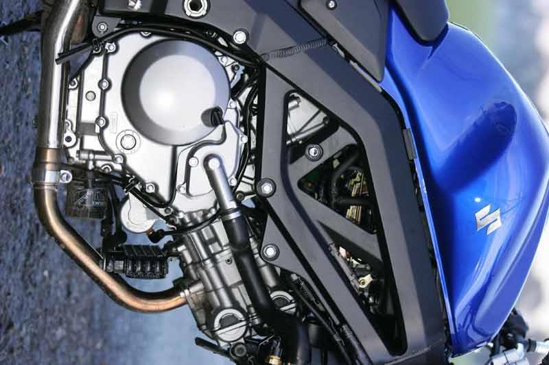 Suzuki SV 650 1000 2003 ONWARDS DOUBLE DOUBLE SCREEN BLUE FREE FIXINGS.