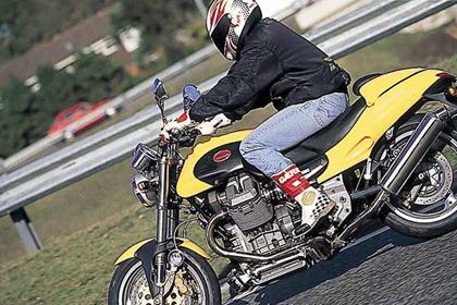 Moto Guzzi V10 Centauro motorcycle review - Riding