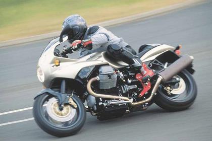 Moto Guzzi V11 motorcycle review - Riding