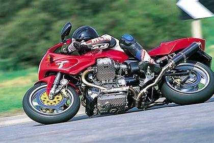 Moto Guzzi Daytona RS motorcycle review - Riding