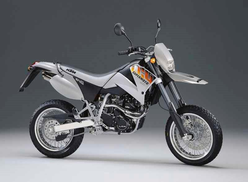Ktm 640 supermoto 1998 2007 review mcn ktm 640 lc4 supermoto motorcycle review side view fandeluxe Choice Image