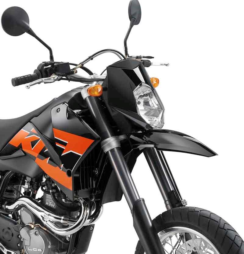 Ktm 640 supermoto 1998 2007 review mcn ktm 640 lc4 supermoto motorcycle review front view fandeluxe Choice Image