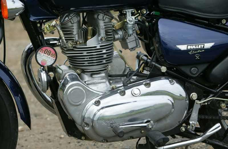 enfield 500 bullet electra 2004 on review mcn rh motorcyclenews com Royal Enfield 500Cc Royal Enfield 500Cc
