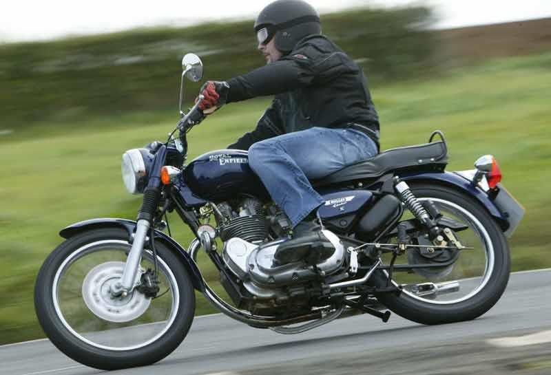 enfield 500 bullet electra (2004 on) motorcycle review mcn