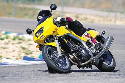 MZ Skorpion 660 motorcycle review - Riding