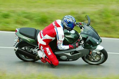 MZ 1000S motorcycle review - Riding