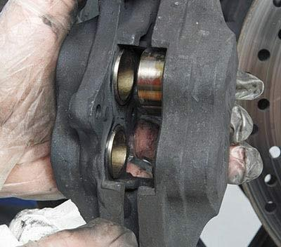 How to service your brake calipers