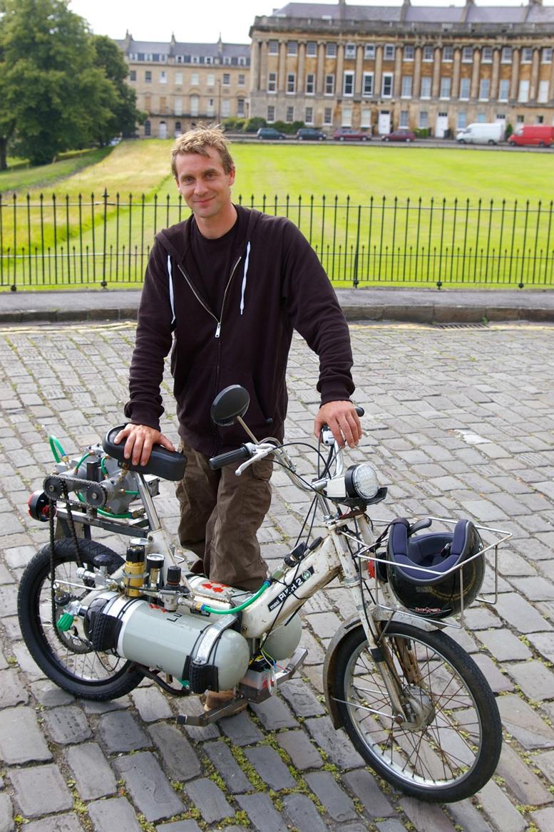 Как сделать воздухан на скутер